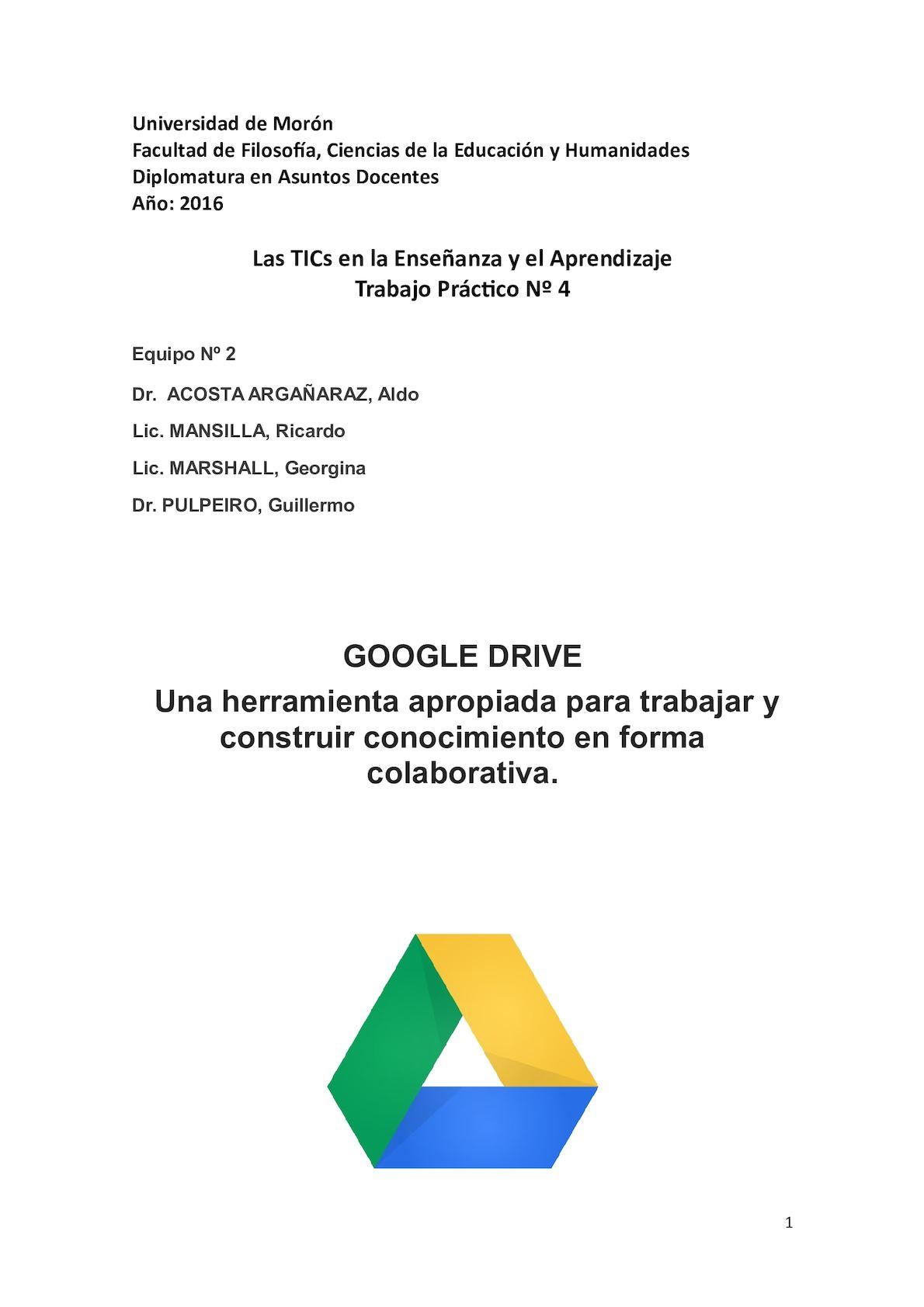 Tutorial Google Drive