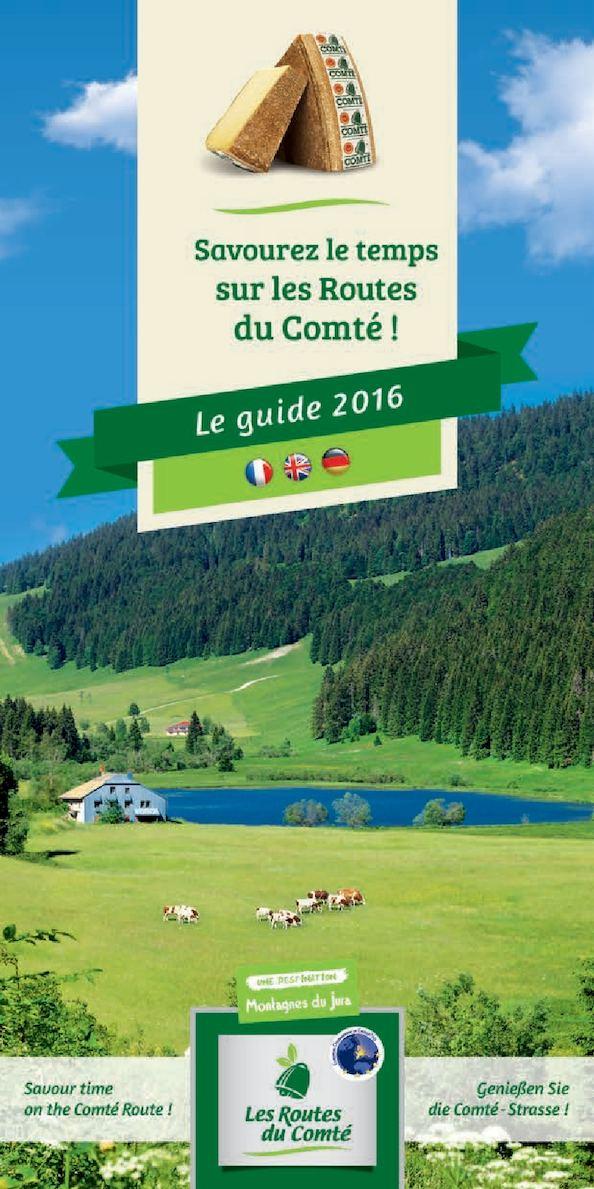 Calam o guide des routes du comt 2016 for Chambre d agriculture du doubs