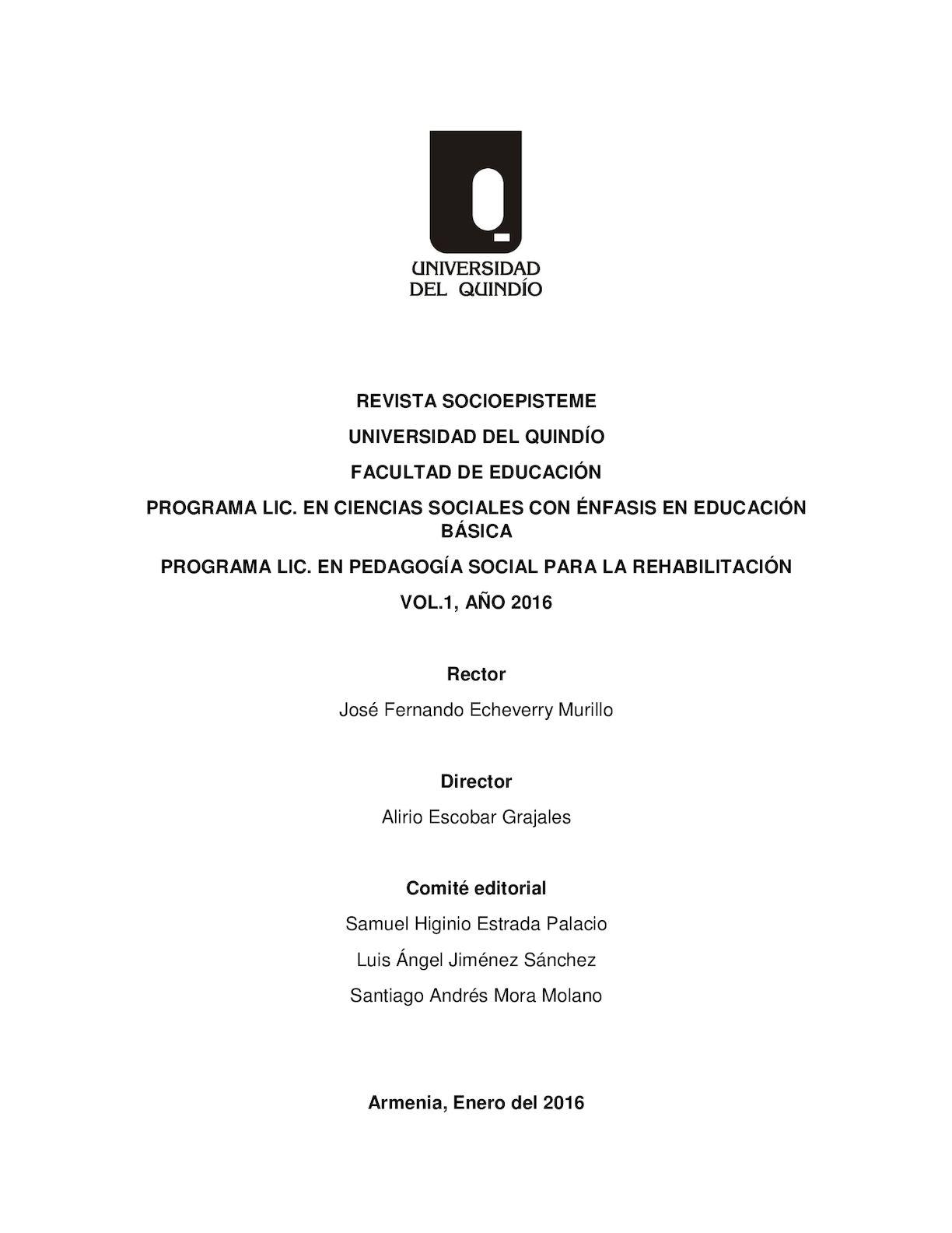 Revista Socioepisteme 2016 Final