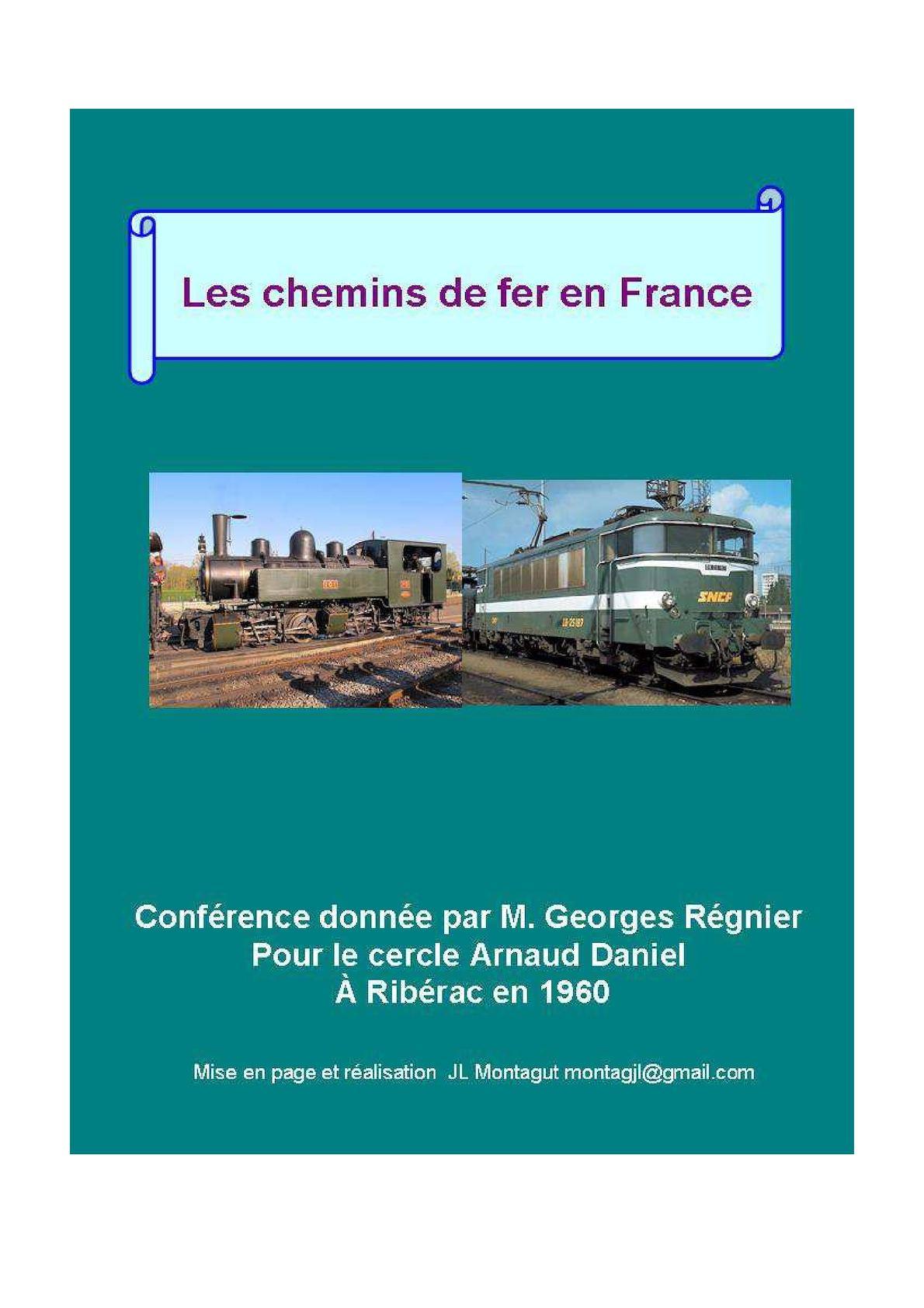 les chemins de fer en France 1960