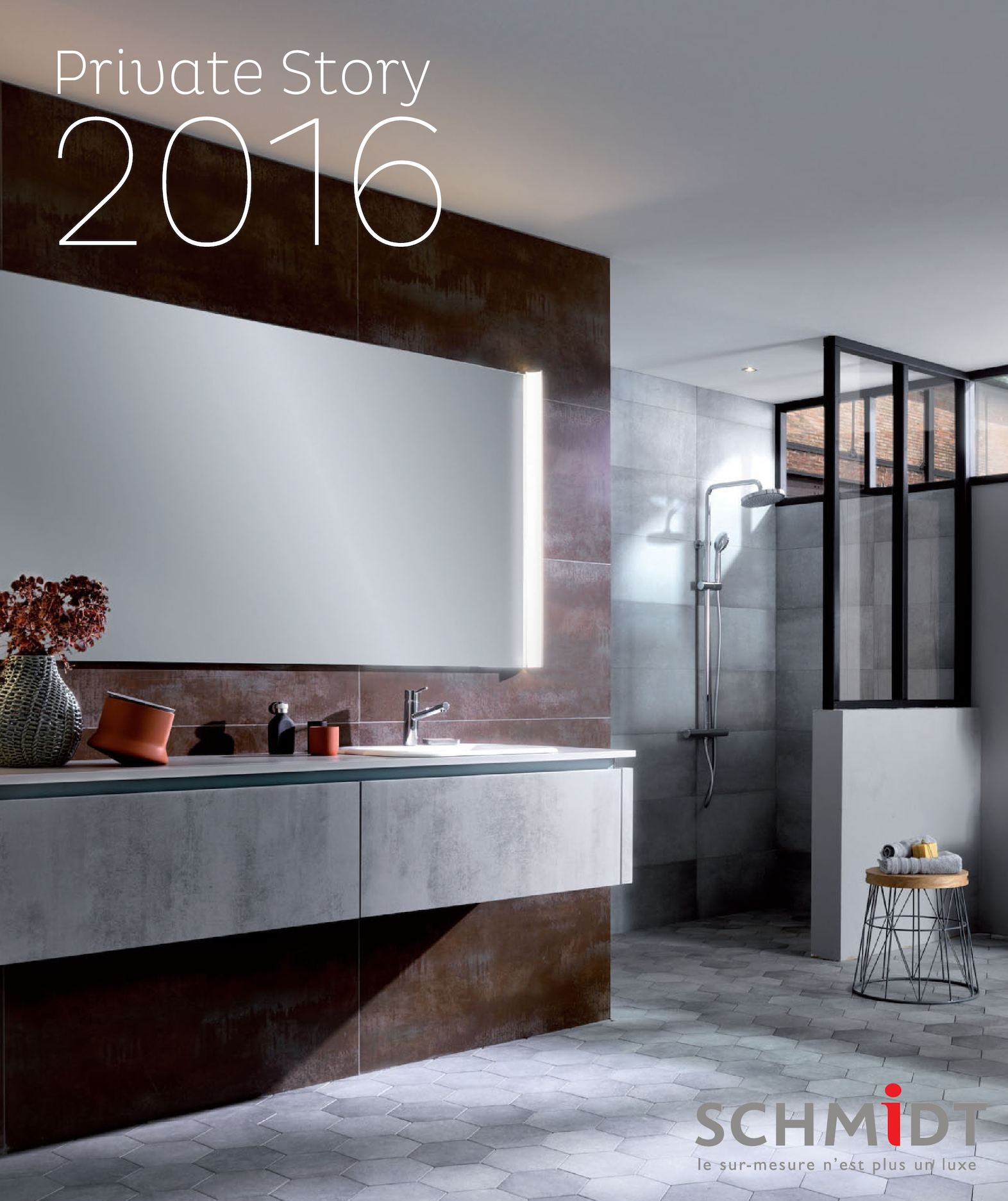 calam o catalogue schmidt salles de bains sur mesure 2016. Black Bedroom Furniture Sets. Home Design Ideas