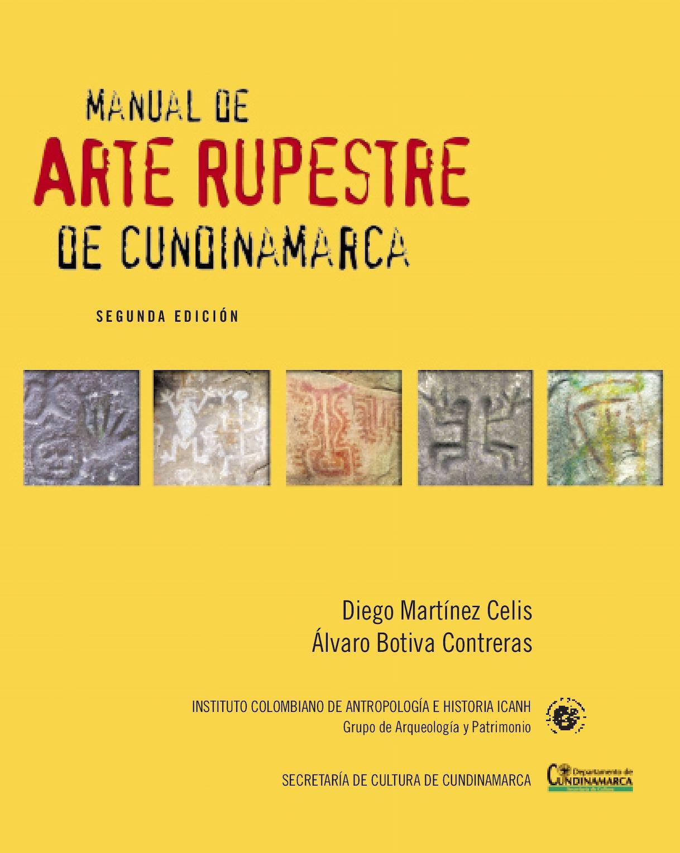 Manual Arte Rupestre De Cundinamarca