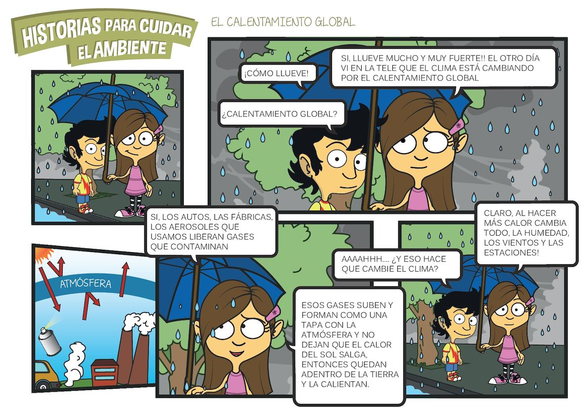 Calaméo - Historieta Calentamiento Global