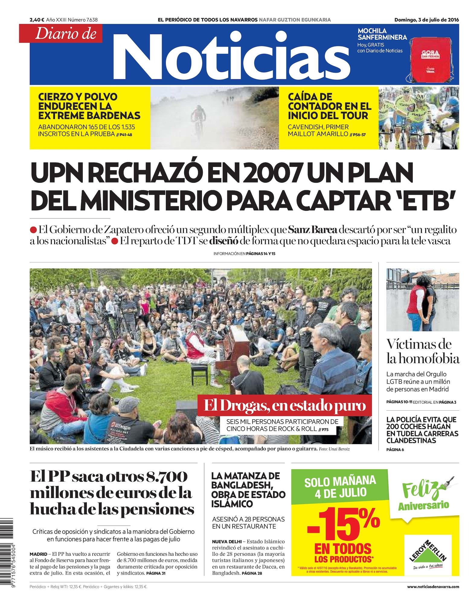 Calaméo - Diario de Noticias 20160703