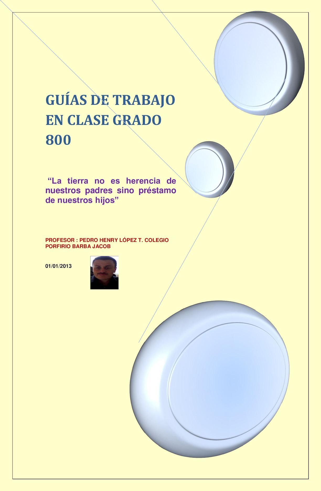 GUIAS 8° TECNOLOGIA