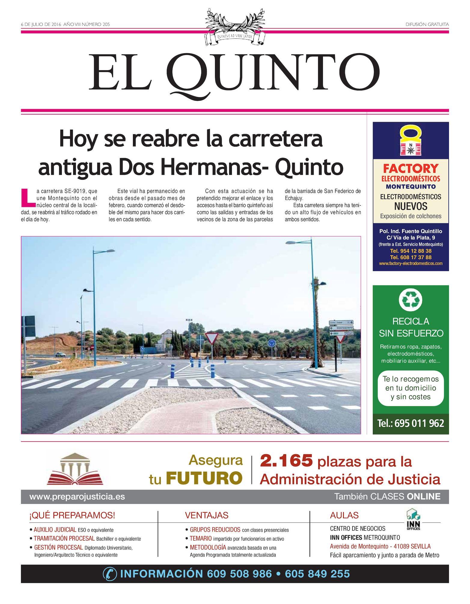 Calaméo - Periódico El Quinto Nº 205