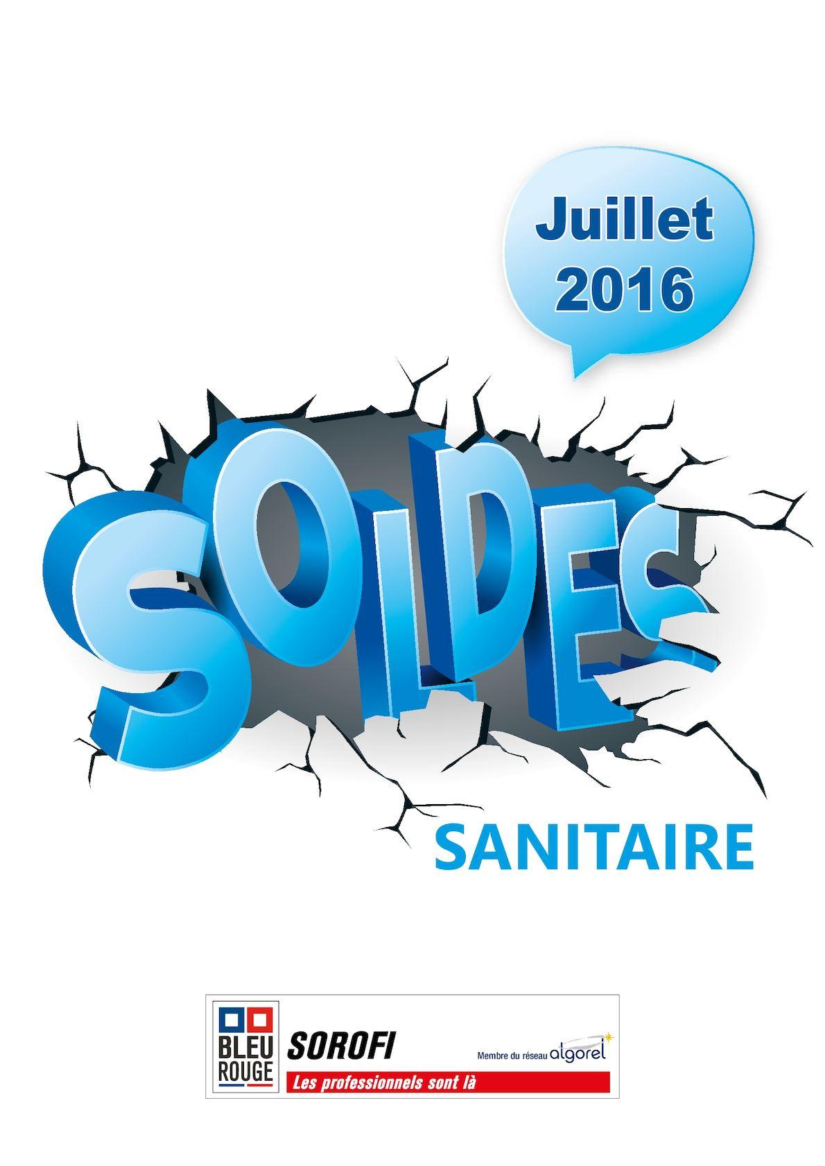 calam o soldes sanitaire sorofi juillet 2016