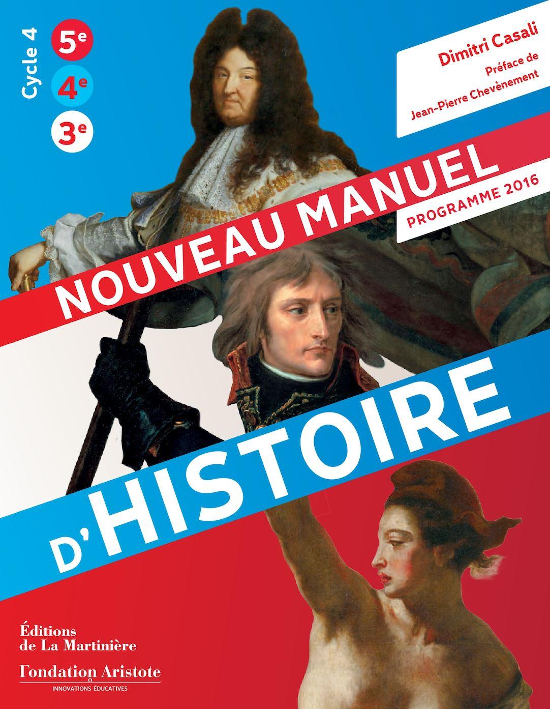 Nouveau Manuel Histoire College Specimen