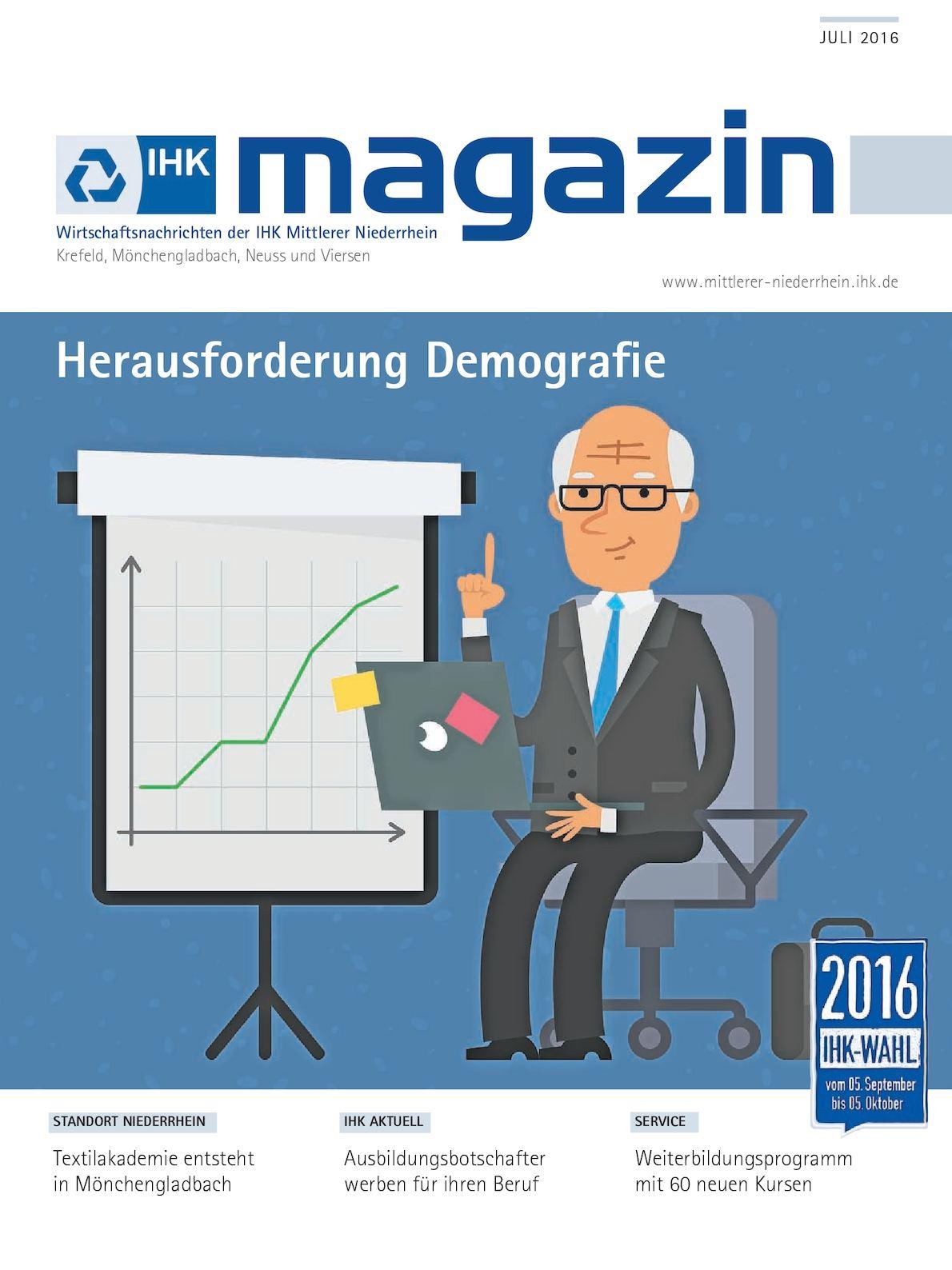 Calaméo - IHK Magazin Juli 2016