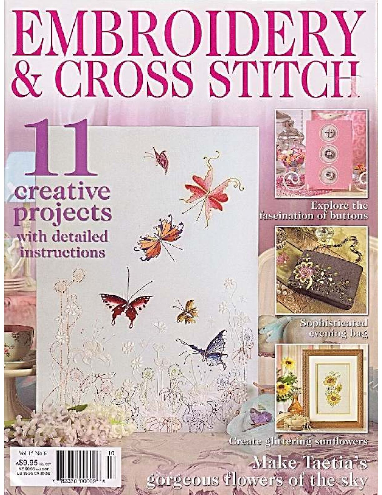 Embroidery And Cross Stitch 15 6
