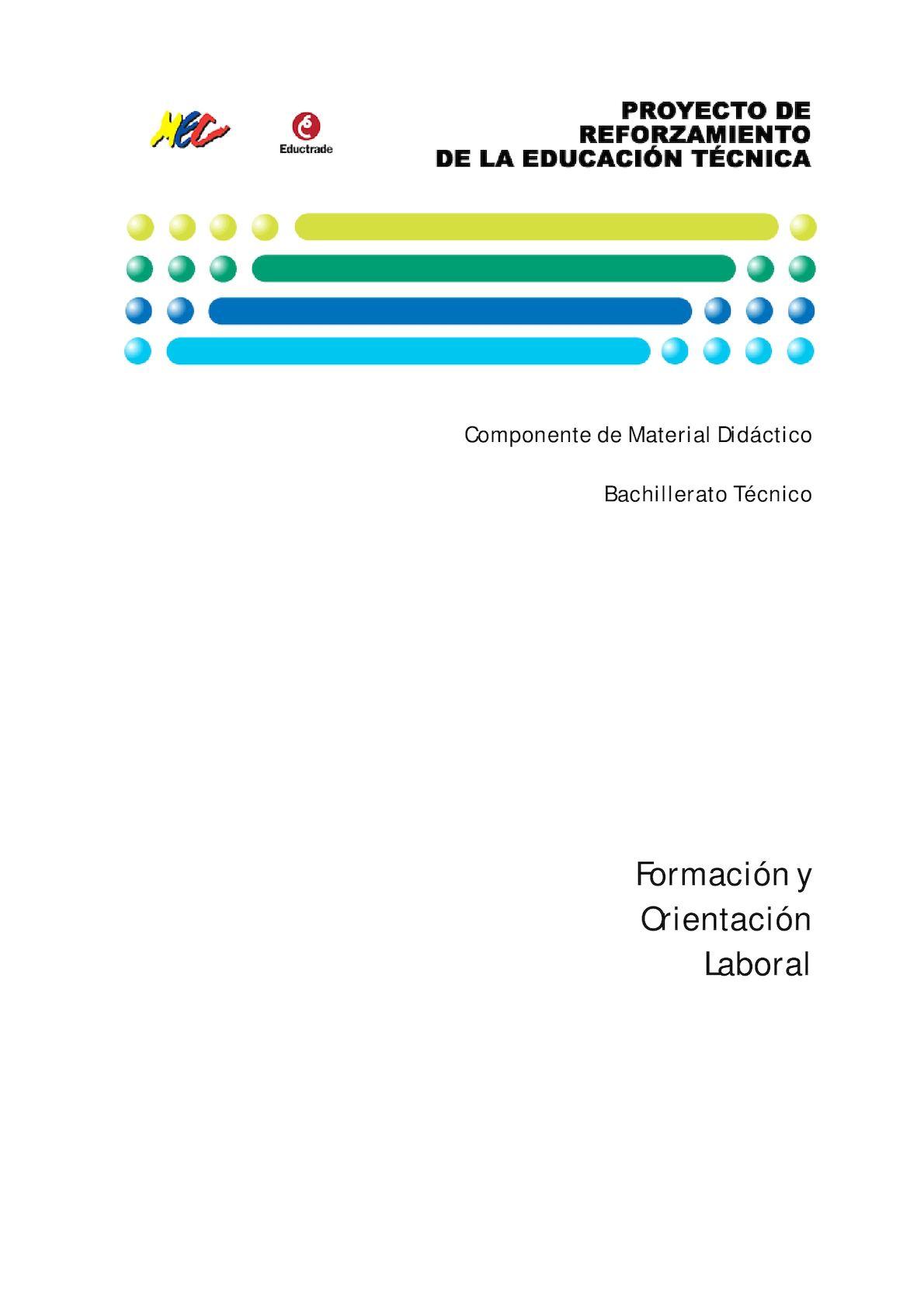 Calaméo - Modulo Formacion Y Orientacion Laboral