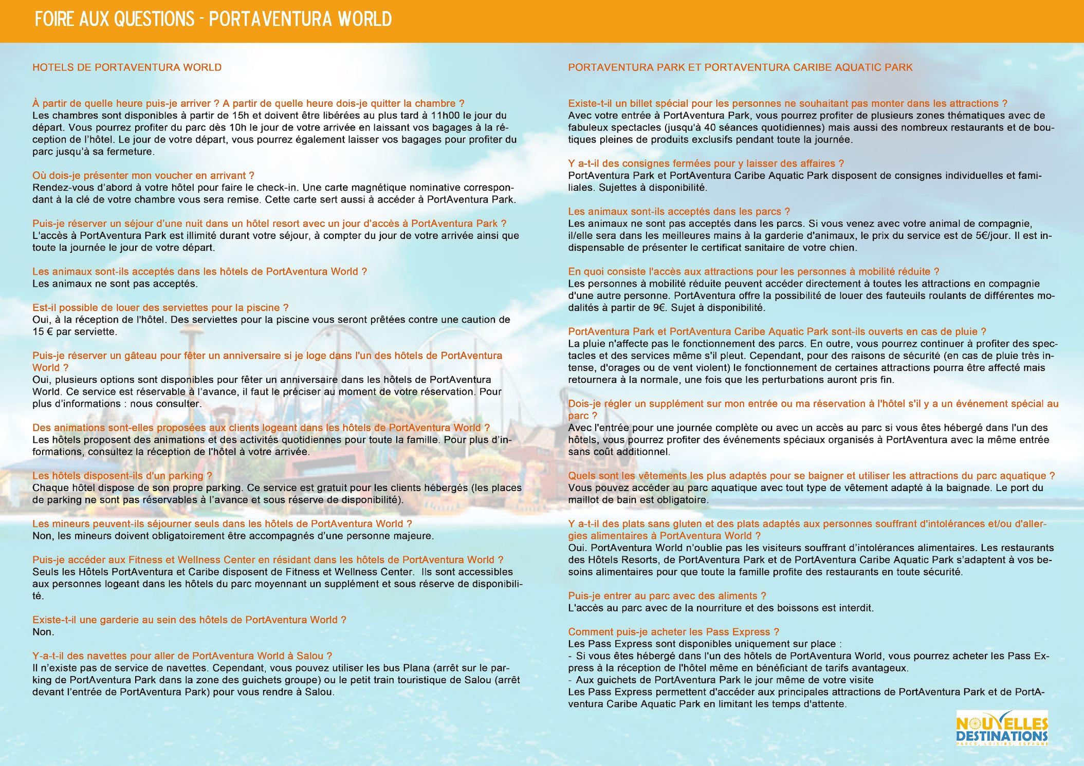 Most Significant Billet Port Aventura Screen Images Kvazarinfo - Port aventura billet pas cher