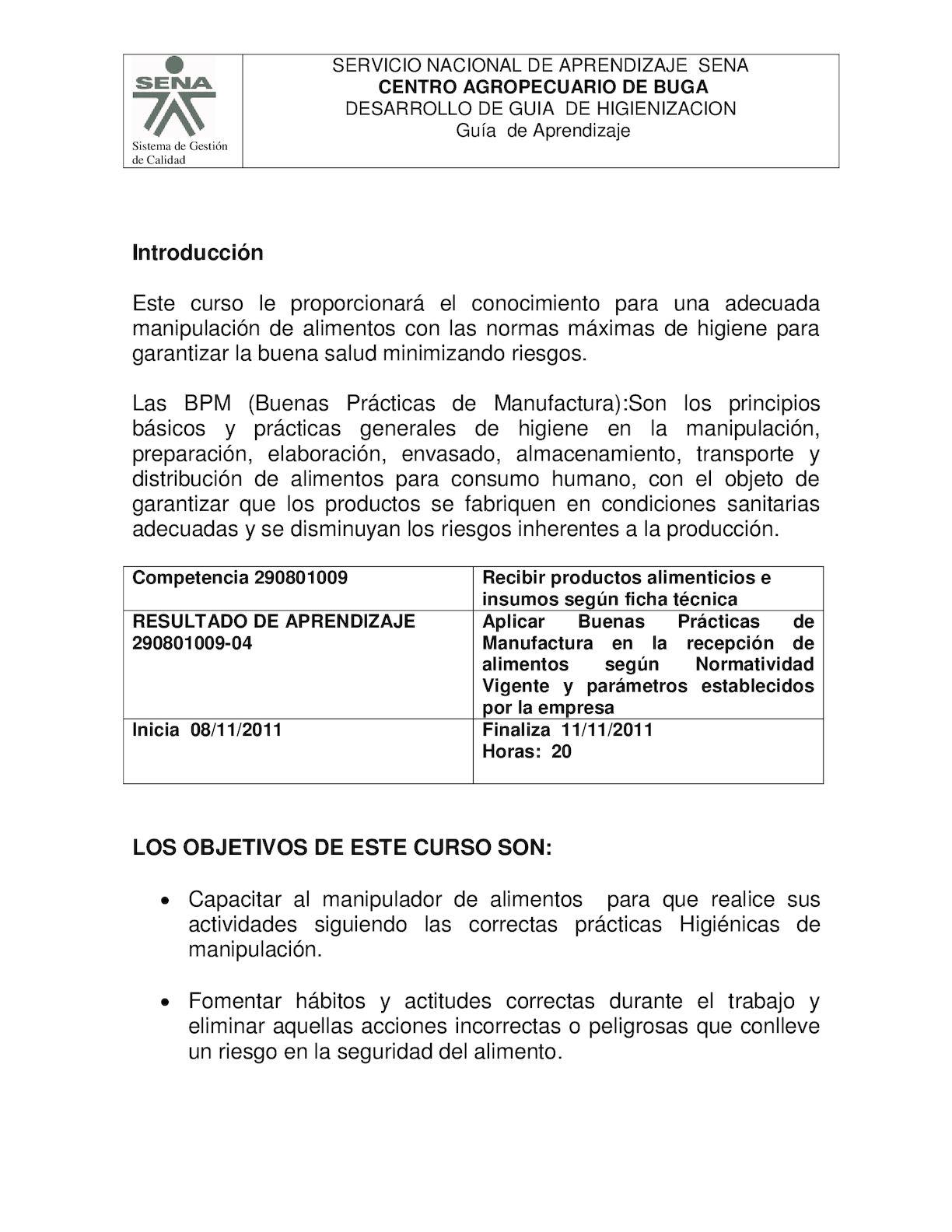 Calam o documents mx guia higiene y manipulacion for Higiene y manipulacion de alimentos pdf
