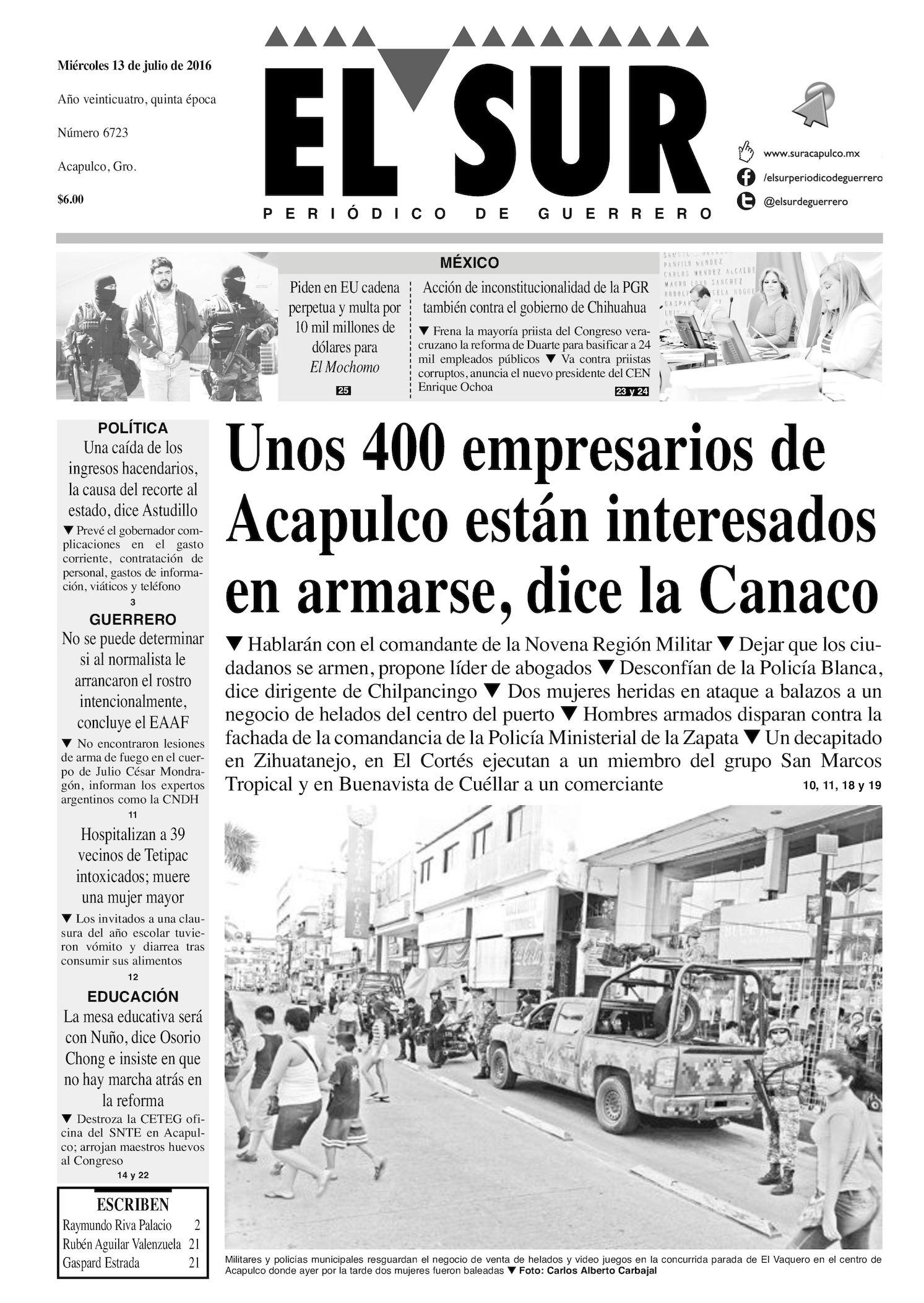 Calaméo - El Sur Miercoles 13072016 05a3ad7d576