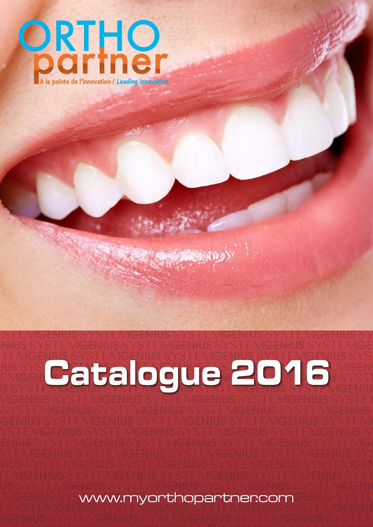 5 - Catalogue Ortho Partner 2016