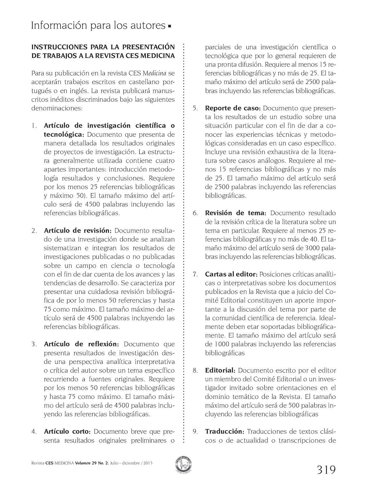Calaméo - Instrucciones a los autores