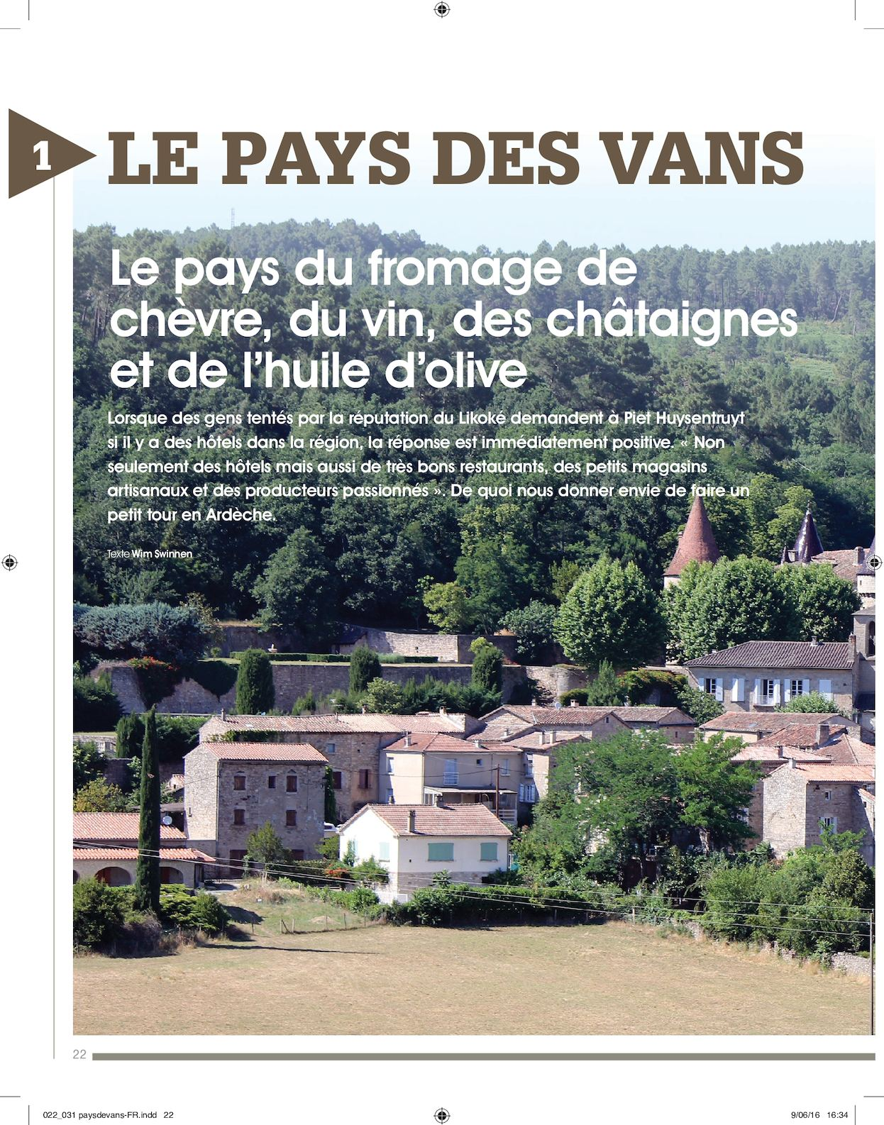 Calam o article de presse magazine culinaire ambiance for Article culinaire
