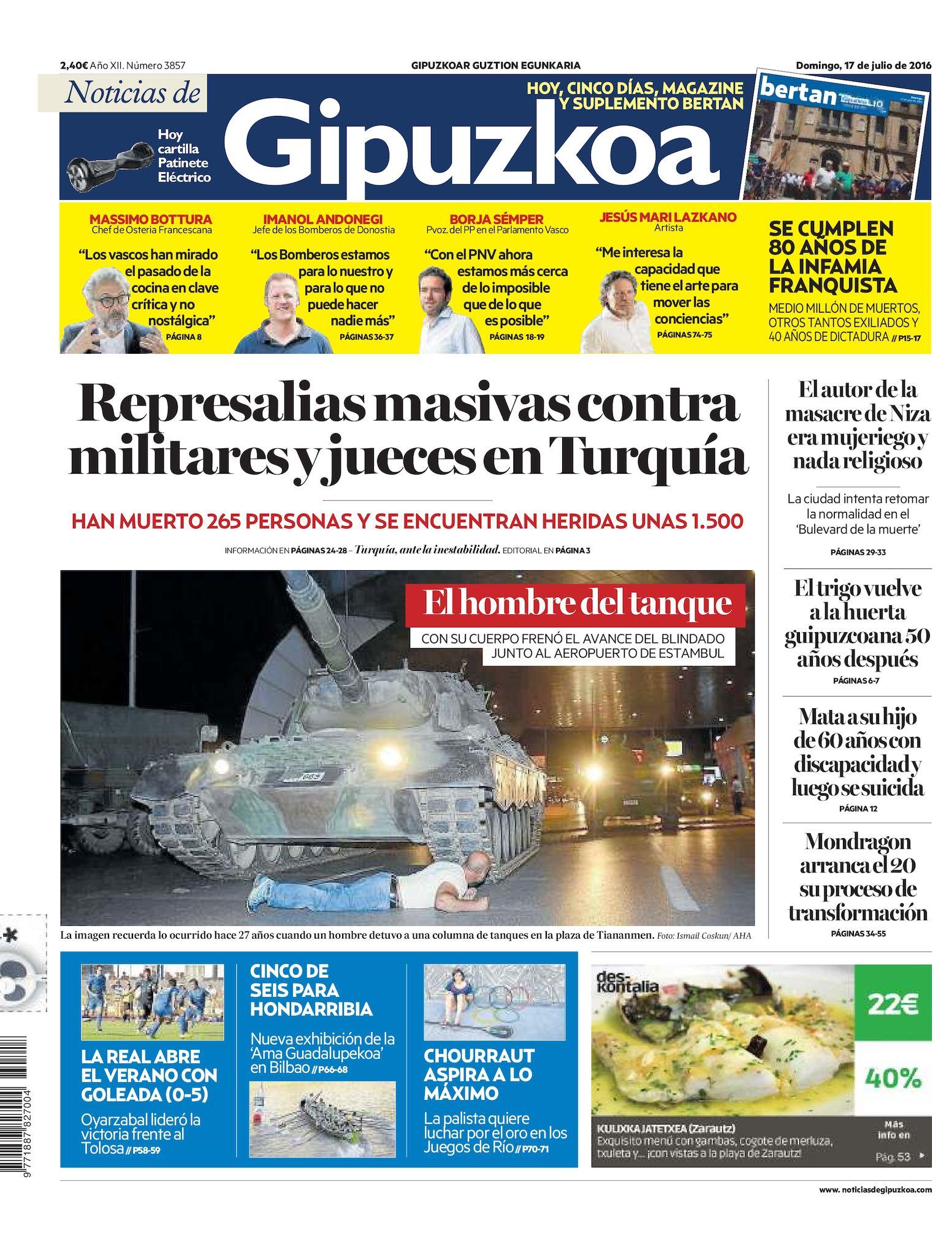 Calaméo - Noticias de Gipuzkoa 20160717