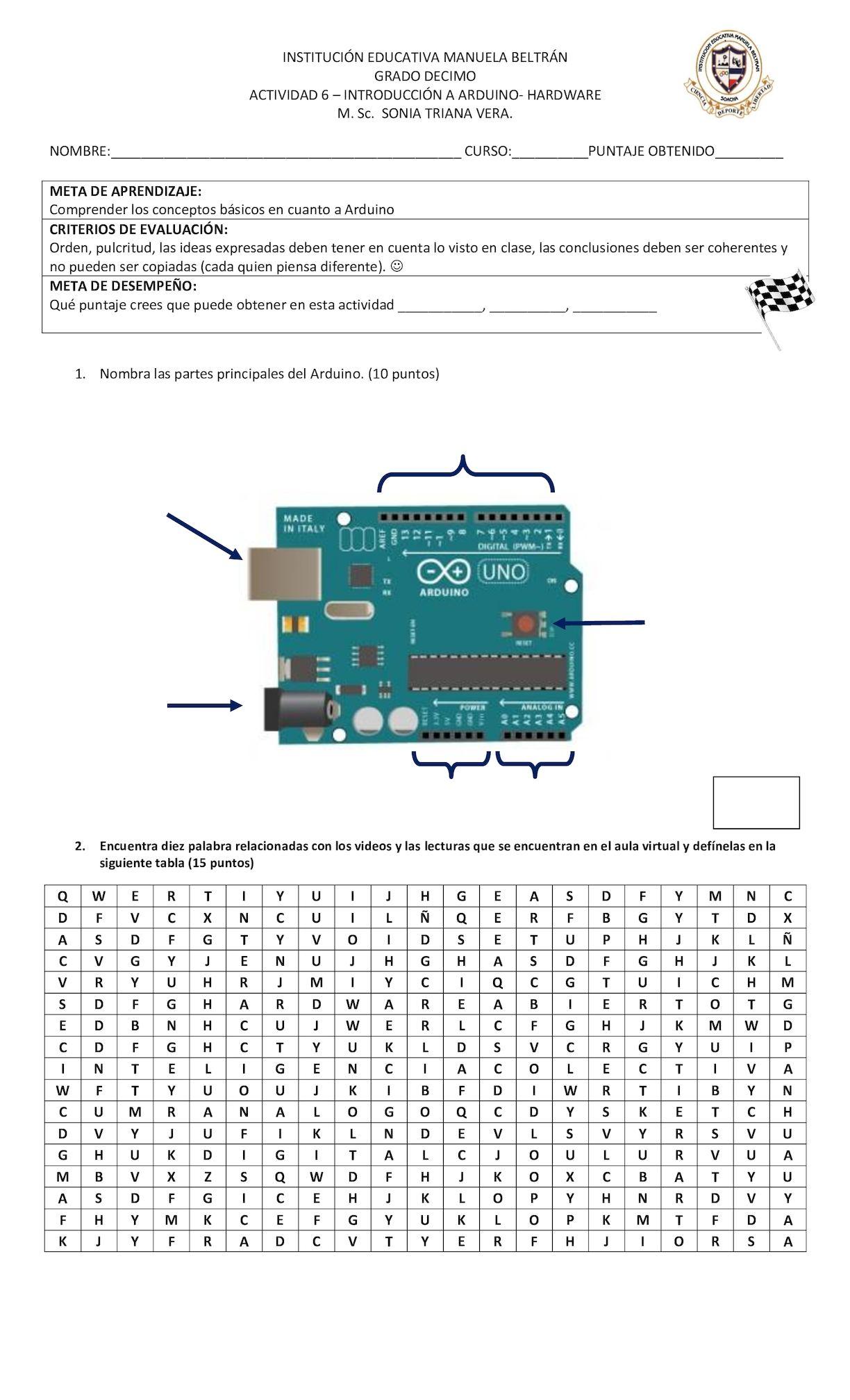 Actividad 6 Introducción A Arduino