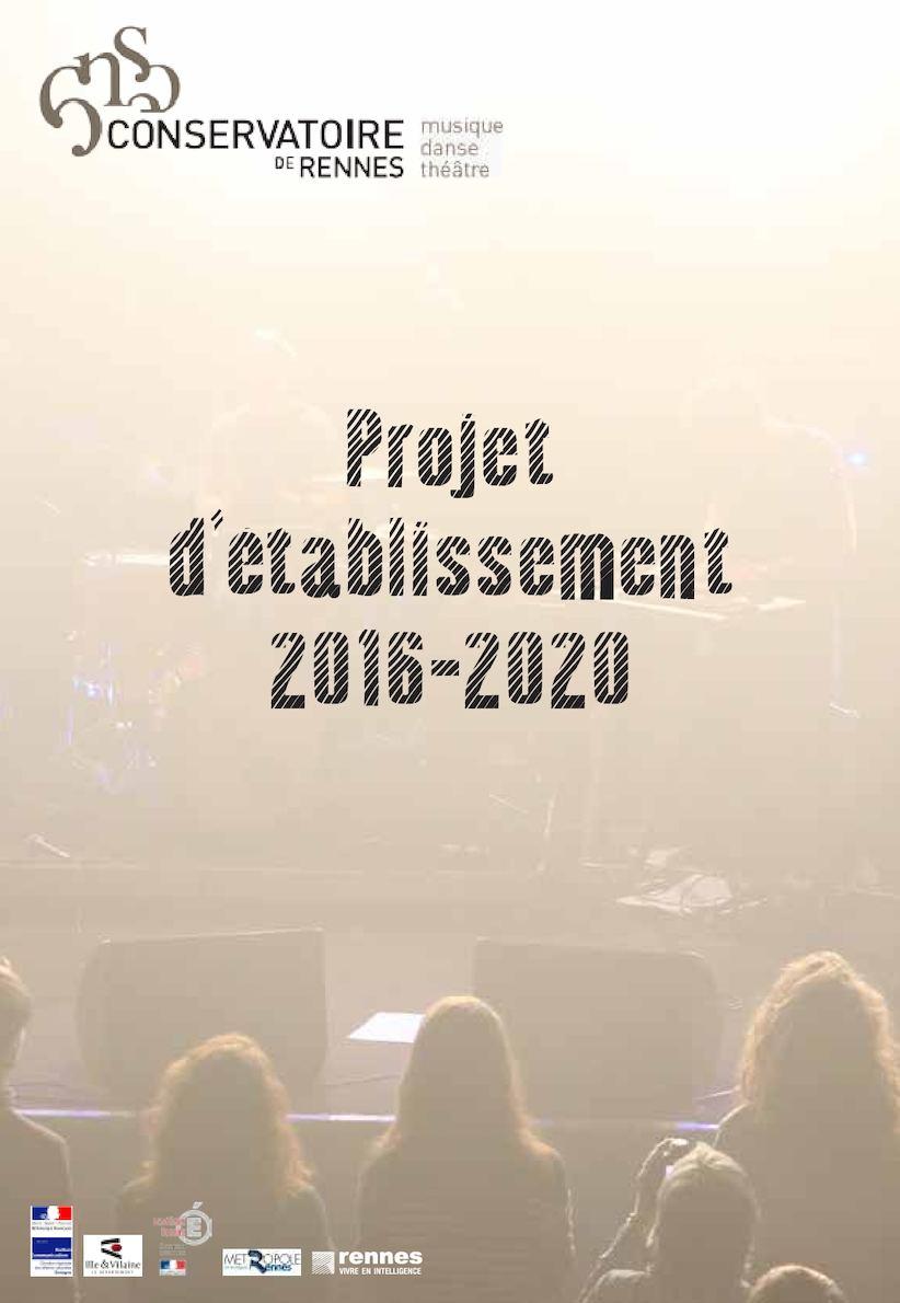 Crr Projet Detablissement 2016 2020 Bd