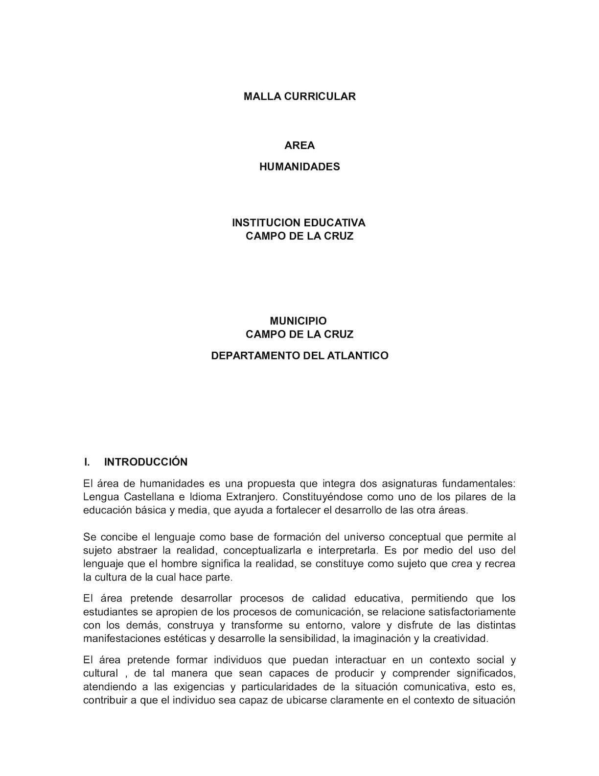 Calaméo - Malla Curricular Edwin