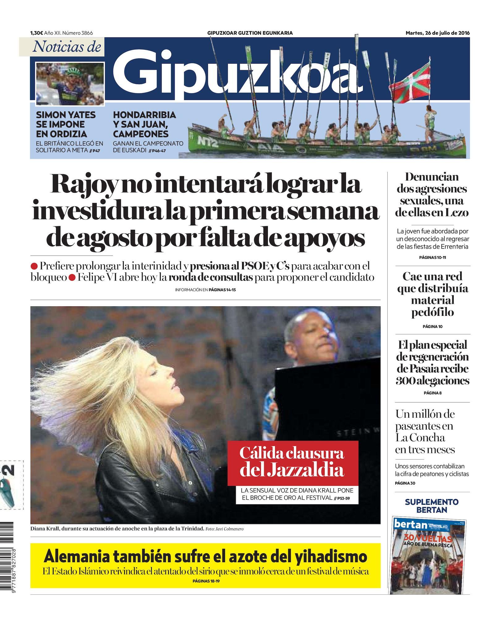 Calaméo - Noticias de Gipuzkoa 20160726