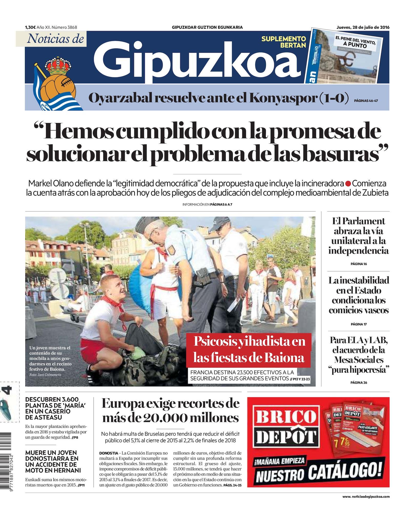 Calaméo - Noticias de Gipuzkoa 20160728