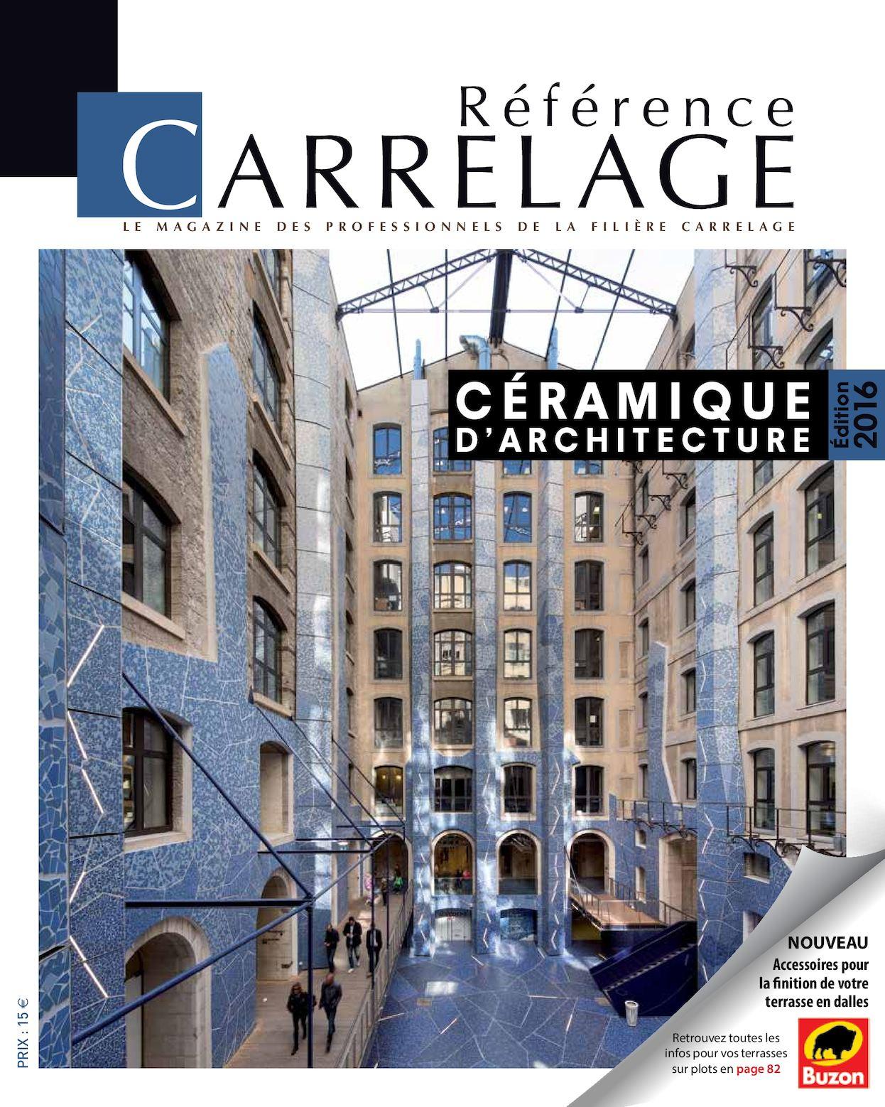 Calaméo Référence CARRELAGE N Spécial Céramique D - Carrelage terrasse et tapis roulant industriel