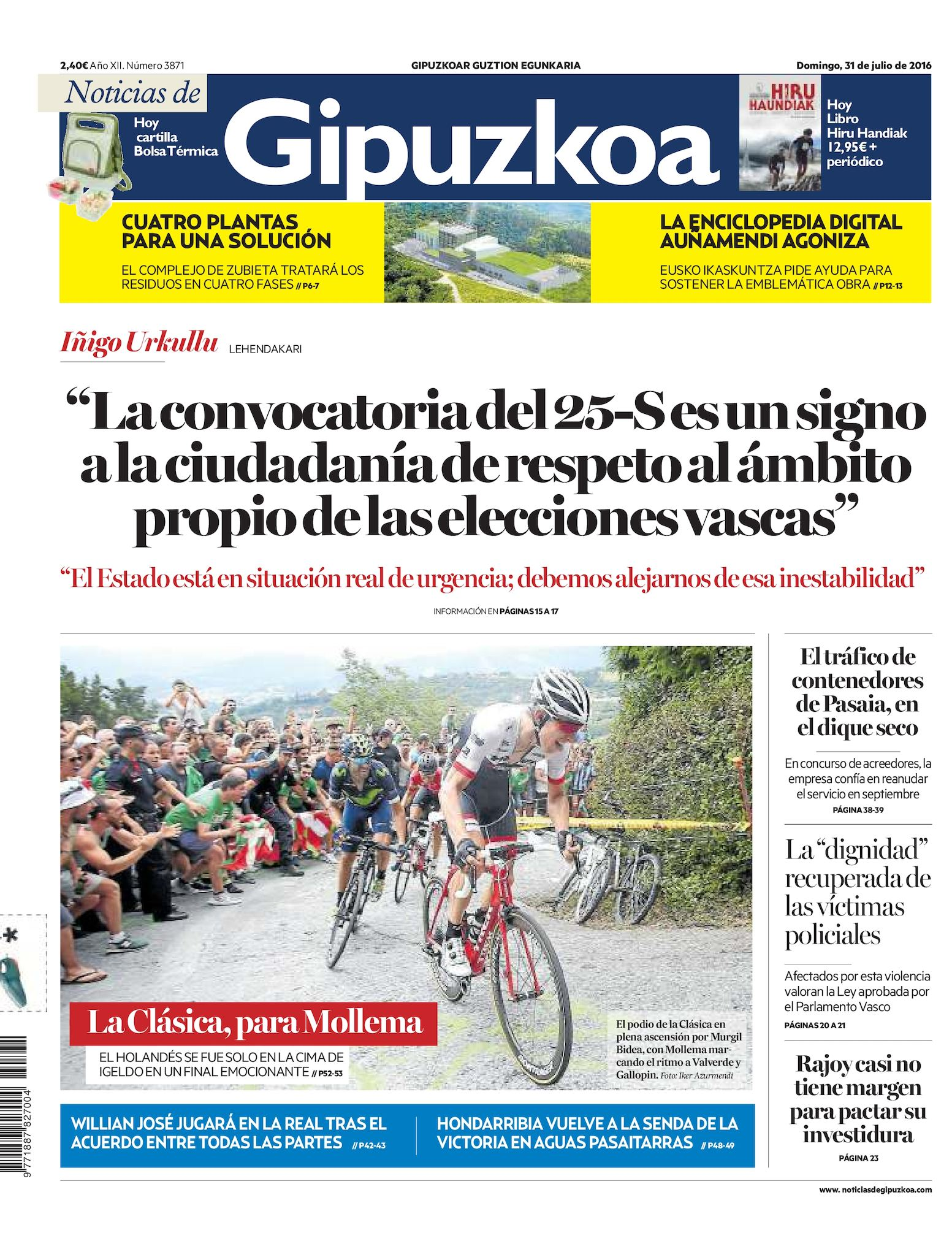 Calaméo - Noticias de Gipuzkoa 20160731
