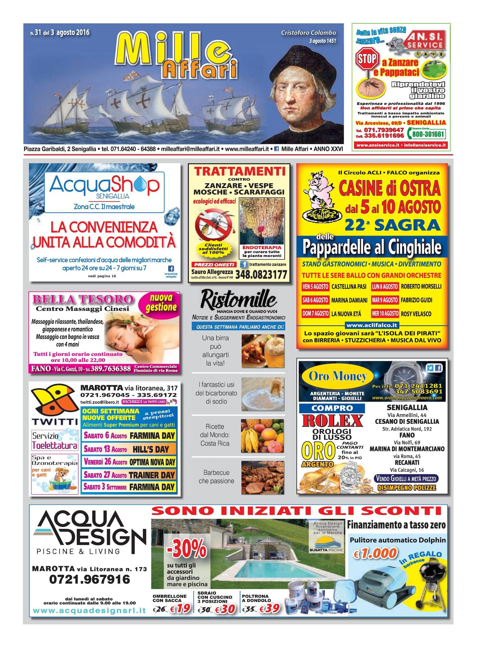 Calaméo - MILLEAFFARI N°31 DEL 03.08.16 1b995848011e