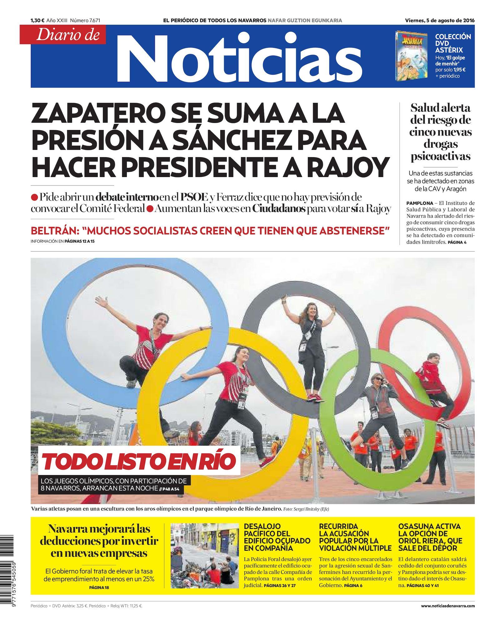 Calaméo - Diario de Noticias 20160805