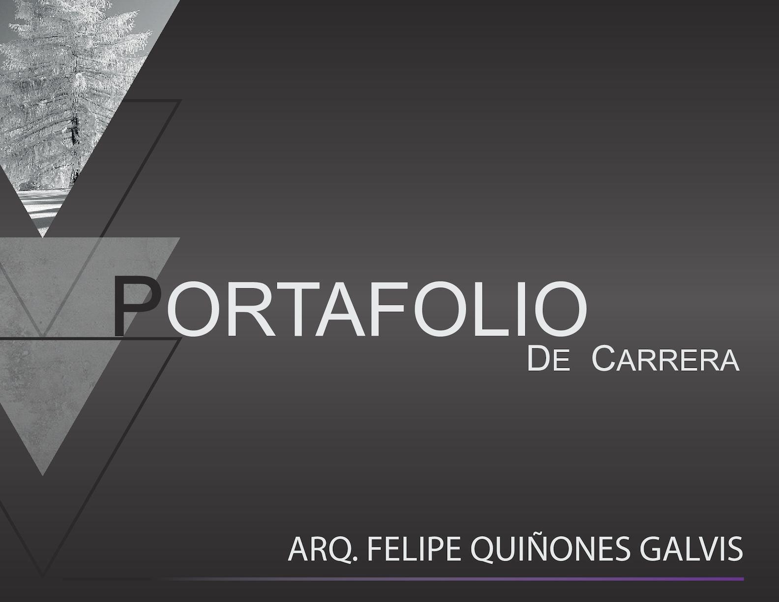 Calam o portafolio arquitecto felipe qui ones galvis for Portafolio arquitectura