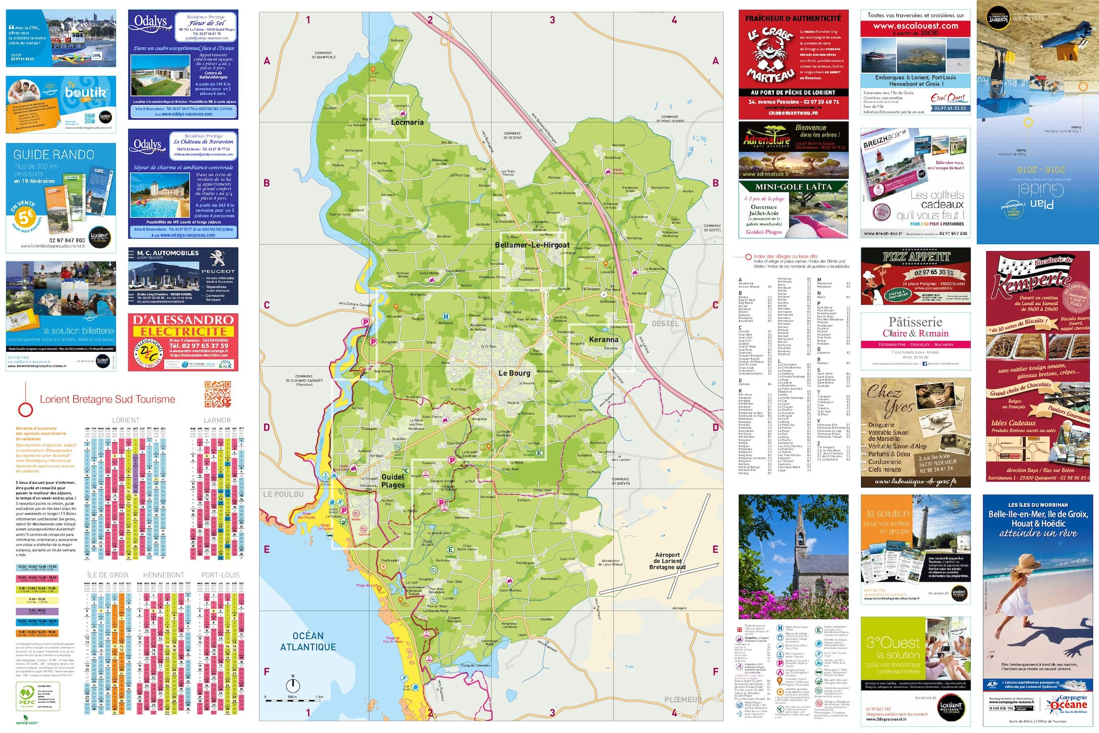 Calam o plan guidel 2016 - Office du tourisme guidel ...
