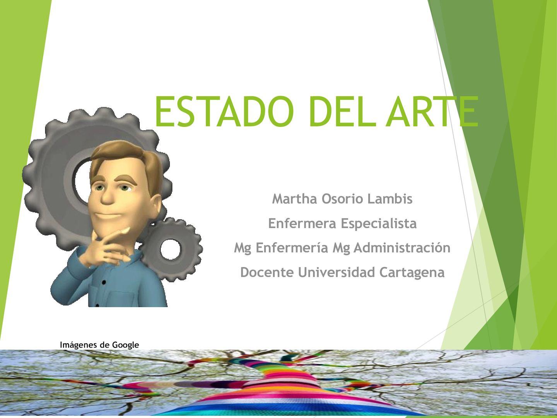 Estado Del Arte Investigación 1