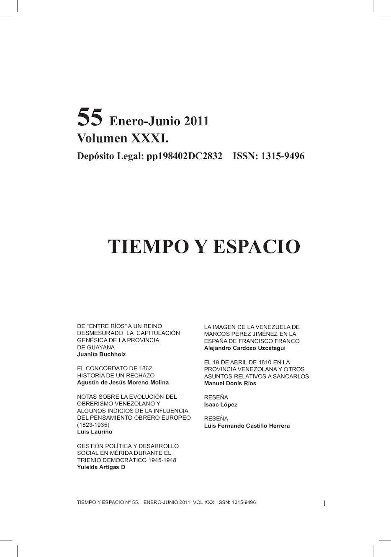 Calaméo - Tiempo y Espacio n° 55