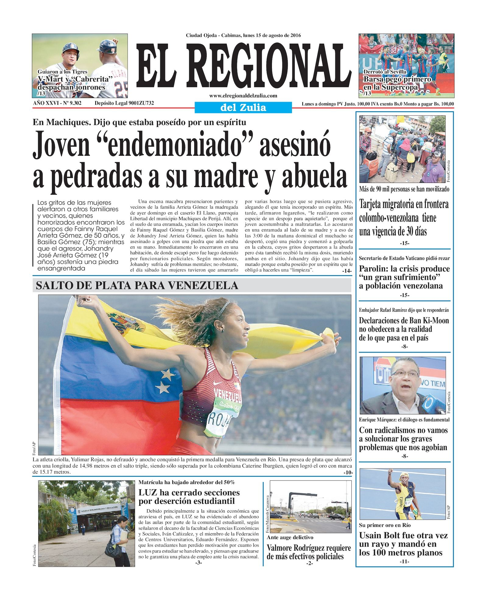 Calaméo - El Regional del Zulia 15-08-2016