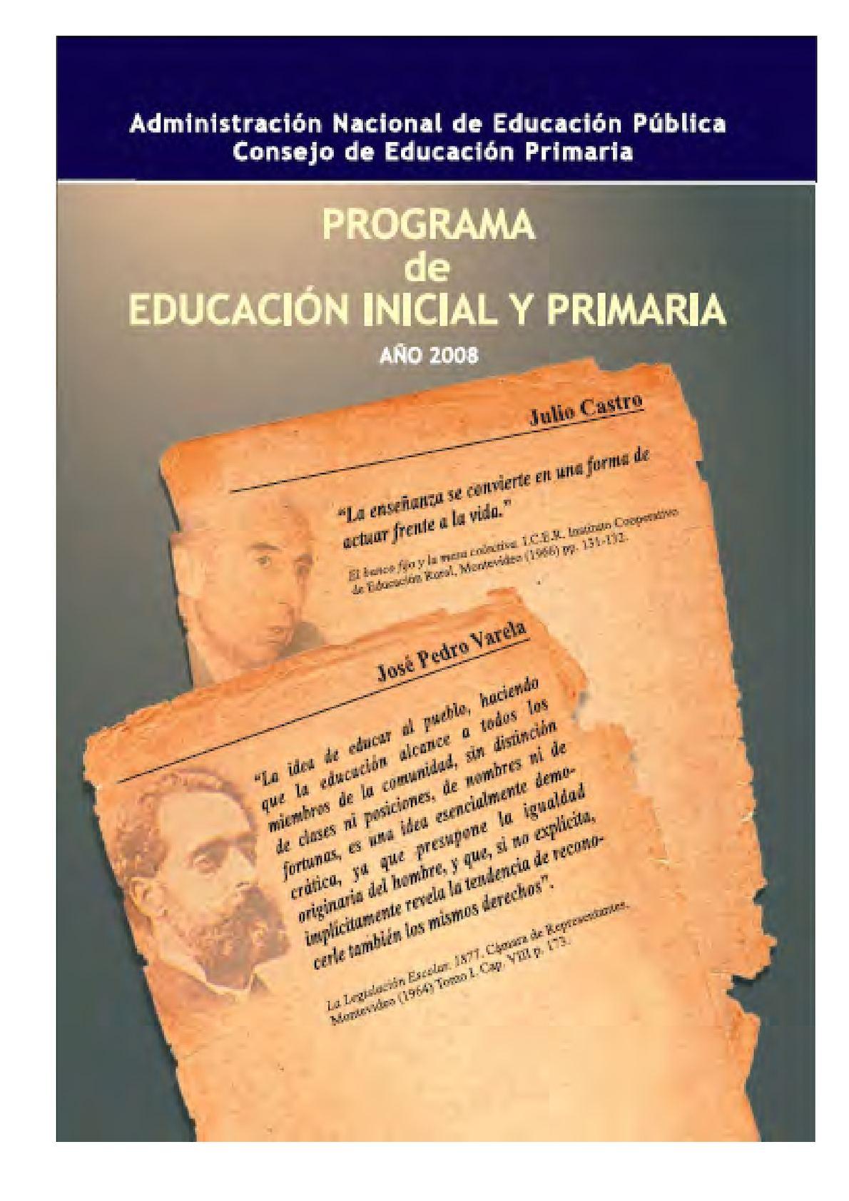 Calaméo - Programa Escolar