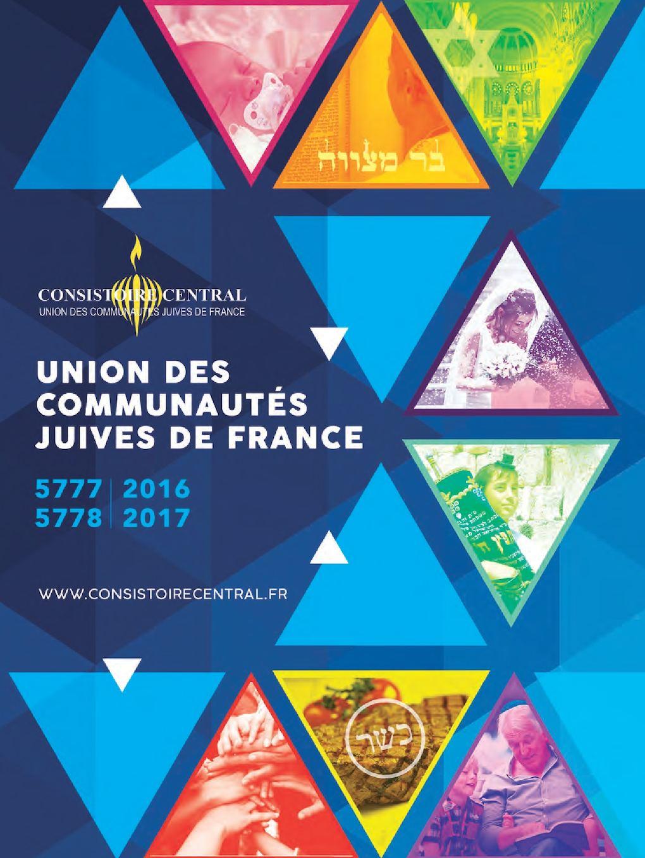 Annuaire Consistoire 5777 France Calaméo 2017 De qwHdaWxt0