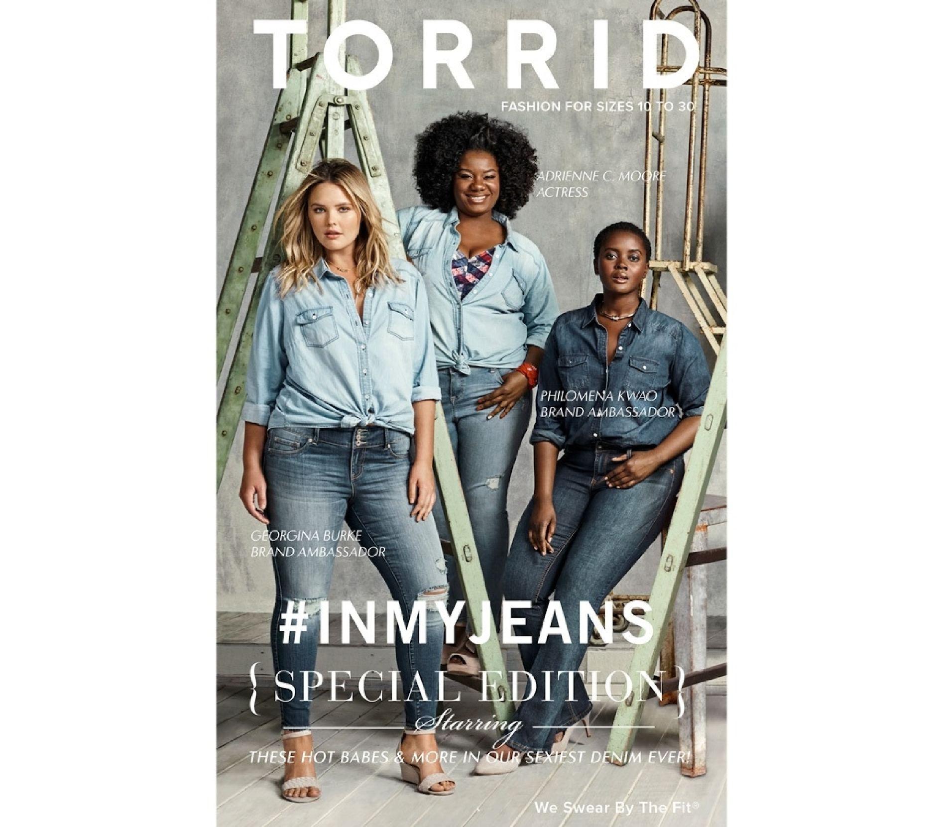 Torrid Inmy Jeans Fall 2016
