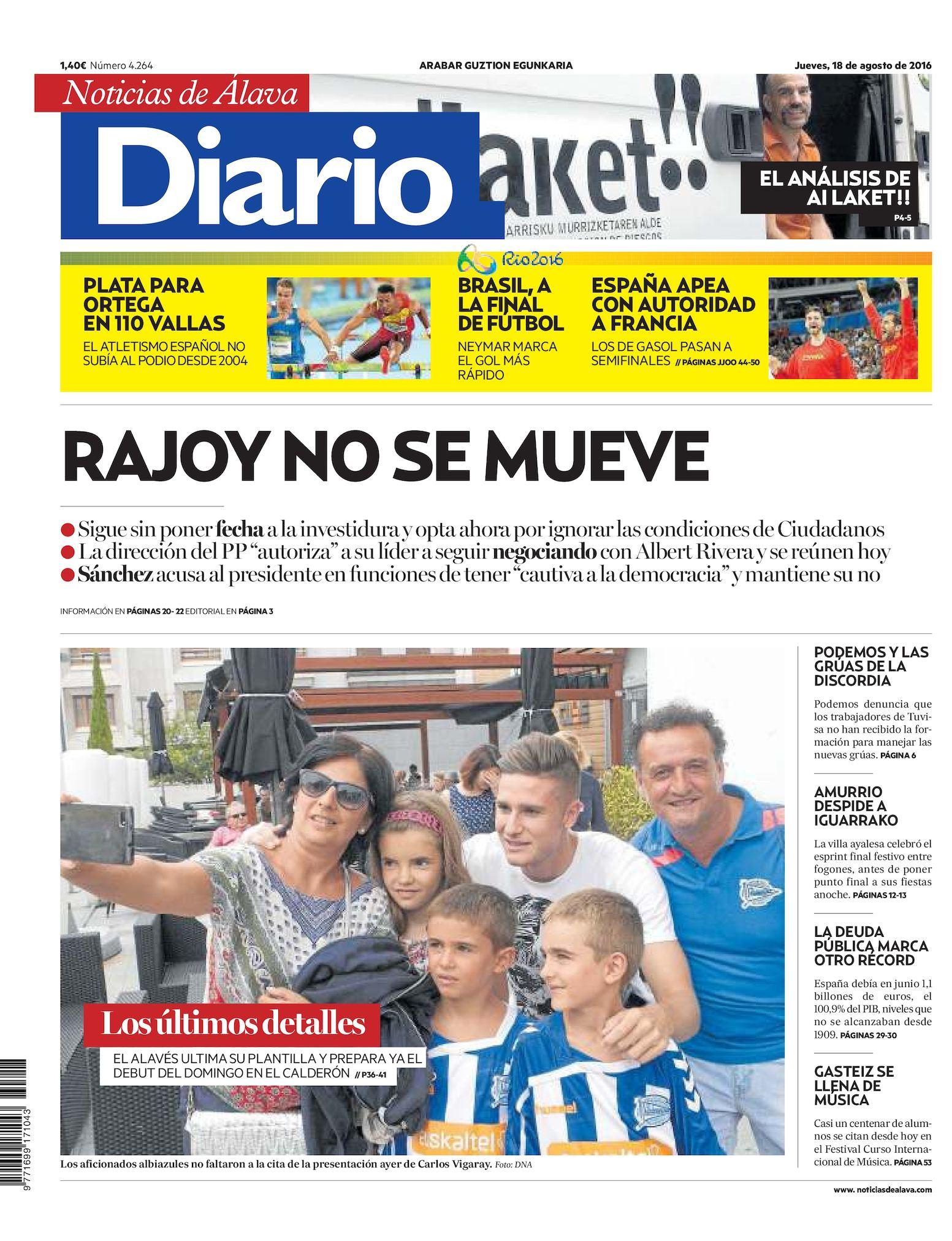 Calaméo - Diario de Noticias de Álava 20160818