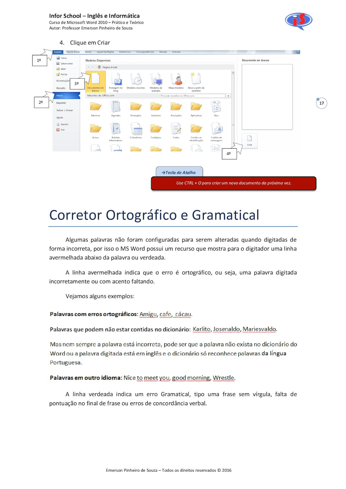 Apostila De Microsoft Word 2010 2 Calameo Downloader