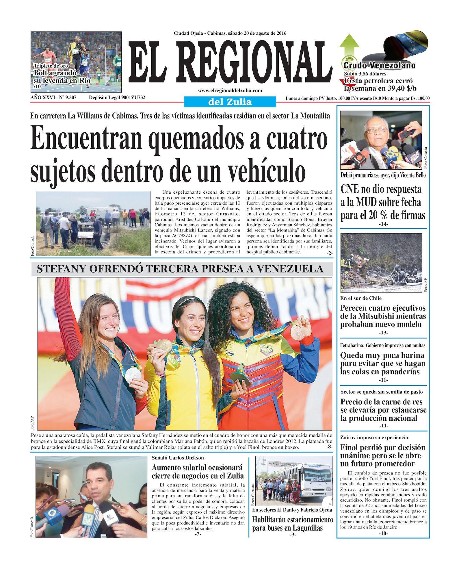 Calaméo - El Regional del Zulia 20-08-2016