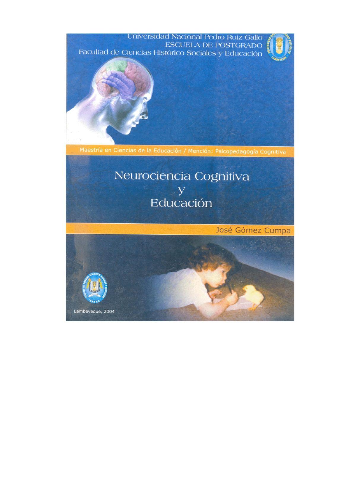 Calaméo - Neurociencia Cognitiva Y Educación