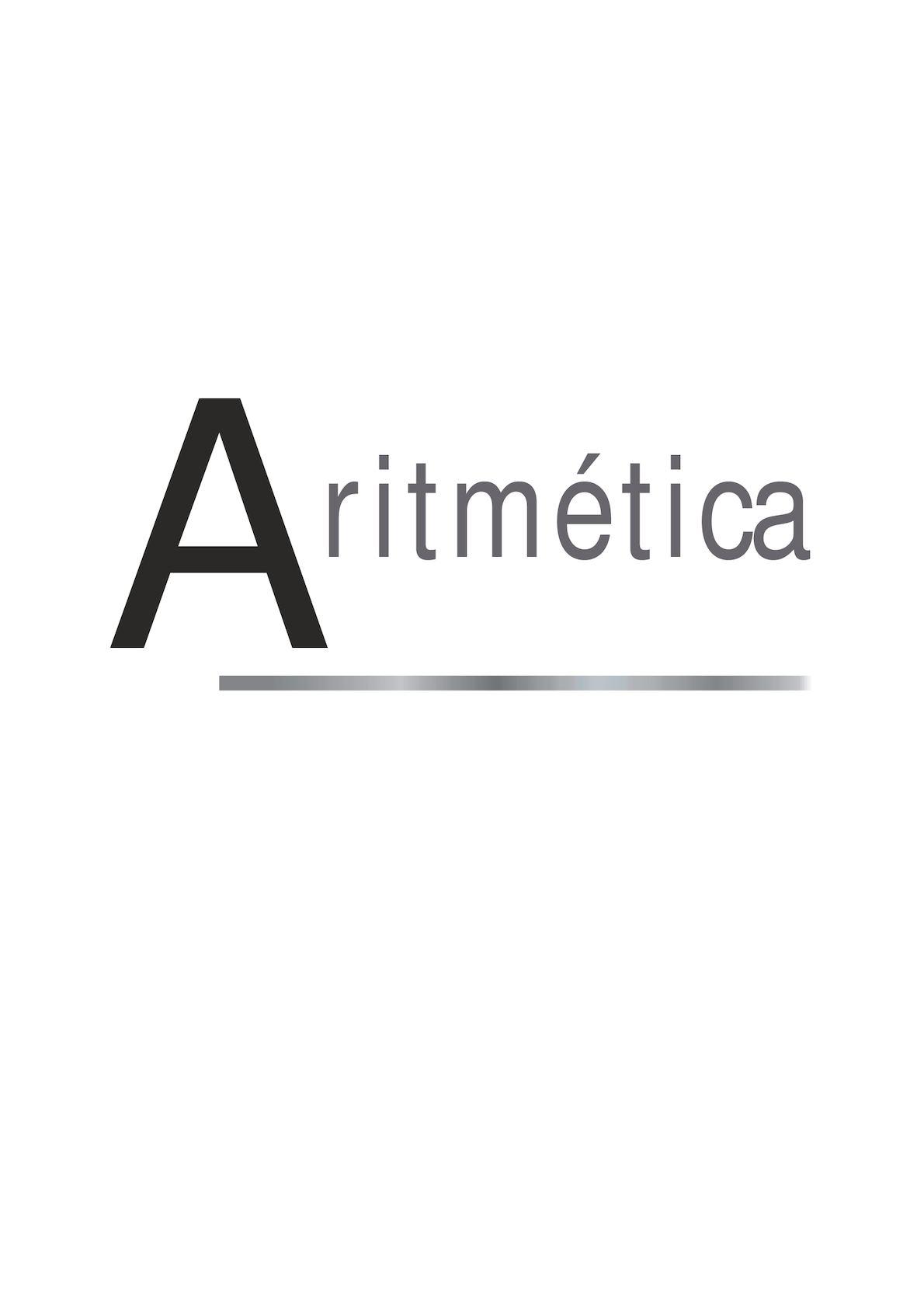 Aritmetica 1