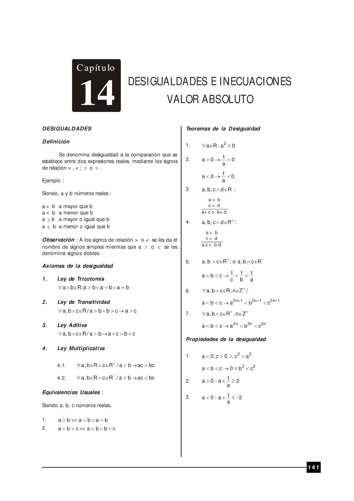algebra 10 y 11