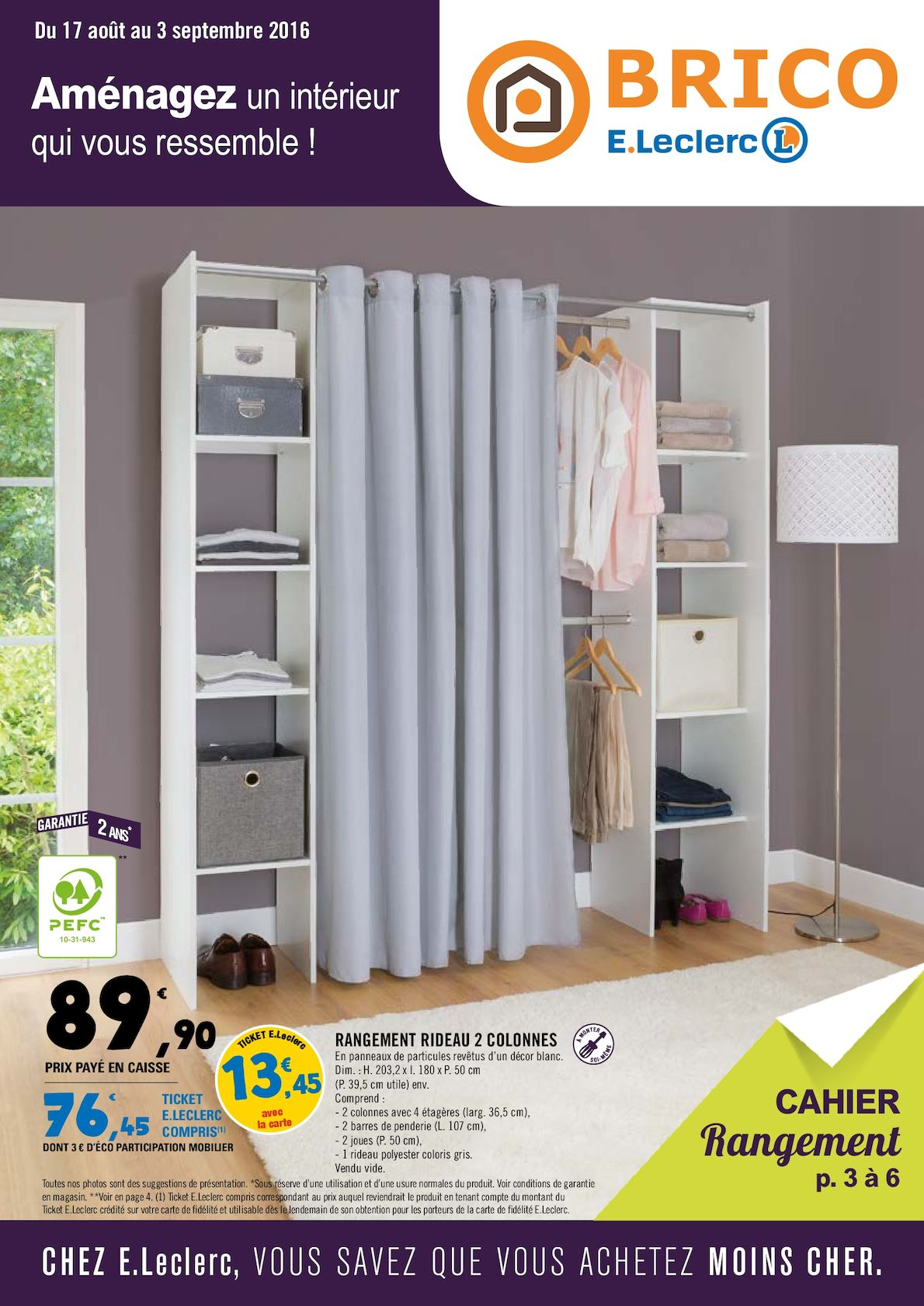 brico leclerc dressing catalogue fnac en cours les jours fnac bons plans adhrents page with. Black Bedroom Furniture Sets. Home Design Ideas