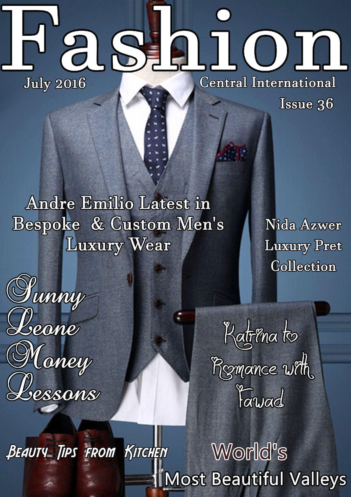 Fashion Central International Magazine August Issue 2016