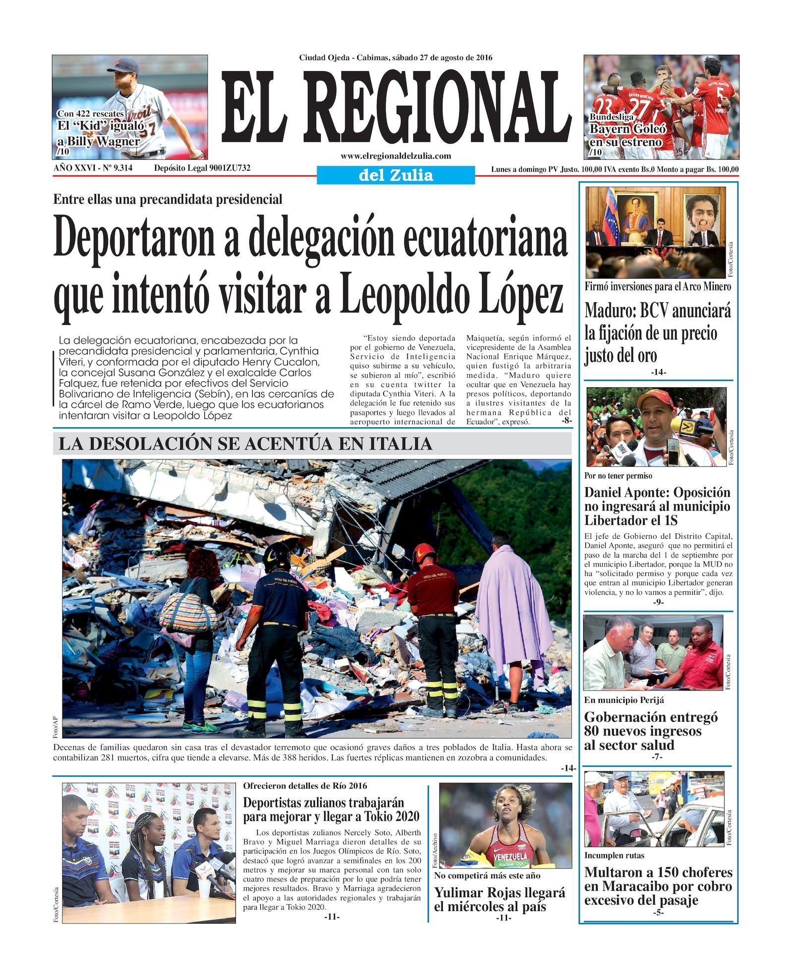 Calaméo - El Regional del Zulia 27-08-2016