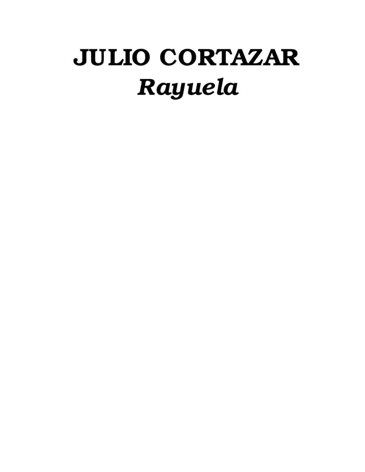 Calaméo - Rayuela Libro