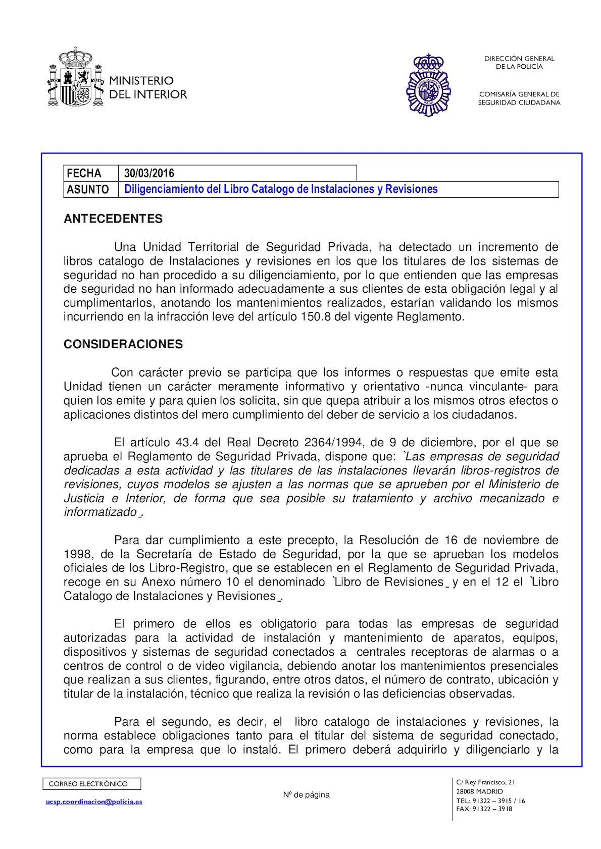 Calaméo - Informe UCSP 2016/019: Diligenciamiento del Libro Catalogo ...